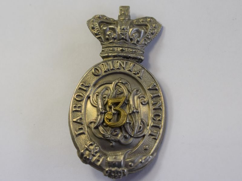 9 Original Unidentified Victorian Military Pouch Badge
