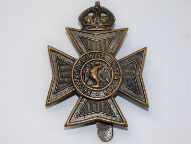 23 Original WW1 WW2 Buckinghamshire Battalion Cap Badge