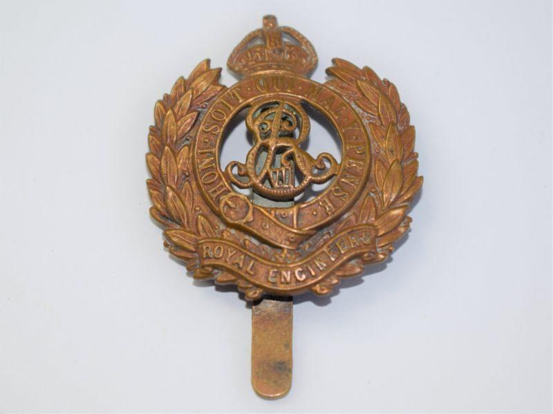 29 Pre WW1 Royal Engineers ERVII Cap Badge