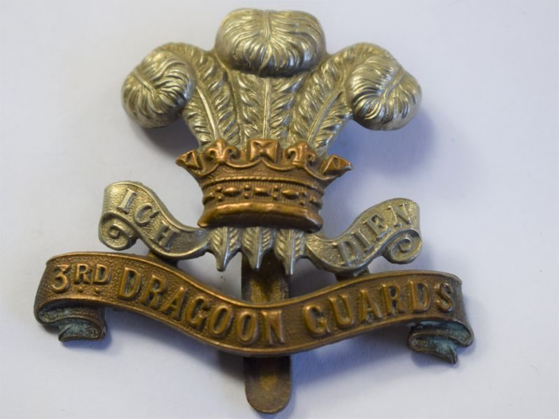 32 Original WW1 3rd Dragoon Guards Cap Badge