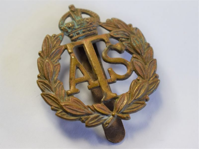 38 Original WW2 Woman's ATS Cap Badge