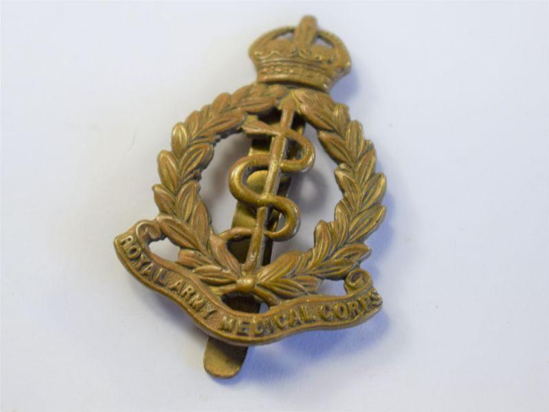 42 Original WW2 Royal Army Medical Corps Cap Badge