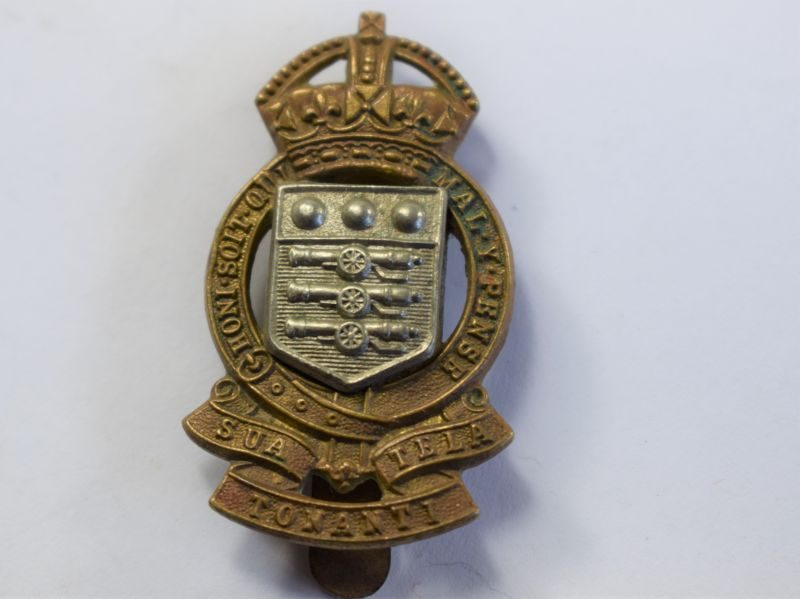 48 Original Short-Lived Post War RAOC Cap Badge SUA TELA TONANTI