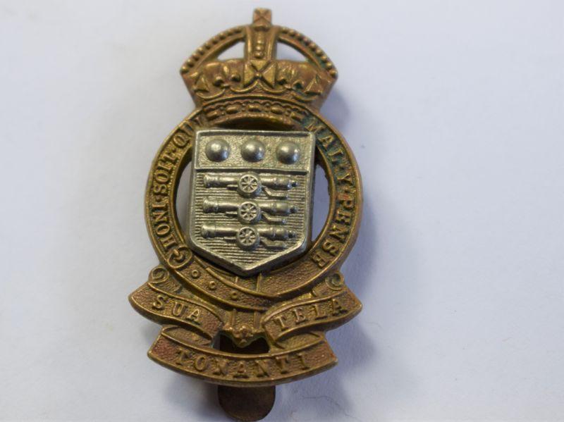48 Original Short-Lived Post War RAOC Cap Badge SUA TELA TONANTI