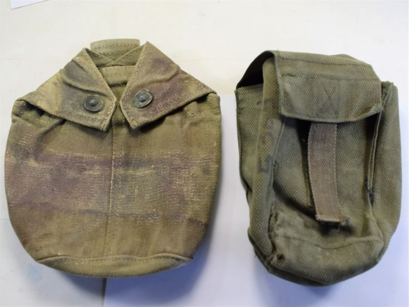 British Army Special Forces P44 Water Bottle Pouch & Unidentified Pouch