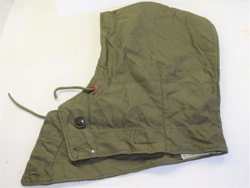 82 WW2 US Army Hood, Jacket & Overcoat, Field in Unissued Condition