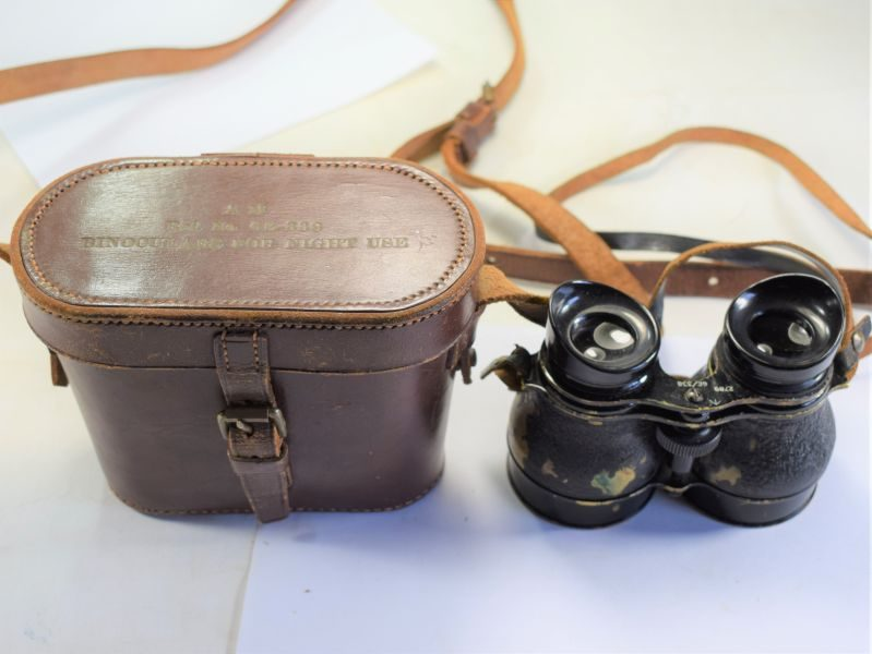 Excellent Original WW2 WW2 RAF Binocualrs For Night Use 6E-338.