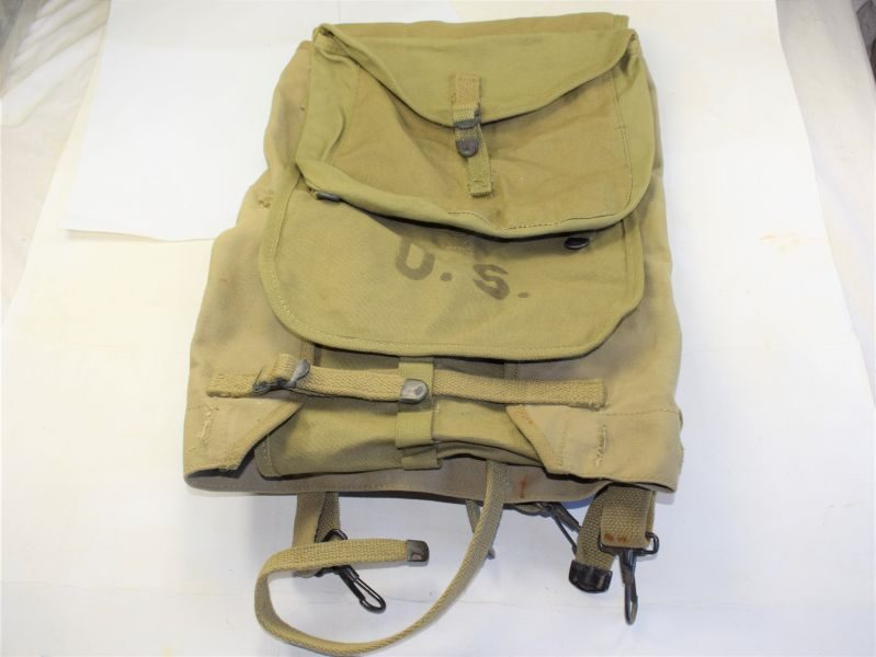 89 Excellent Original WW2 US Army Issue M-1928 Field Pack