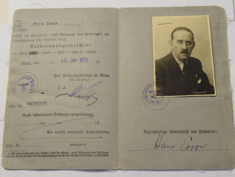 93 Excellent Original WW2 German Fuhrerschein Driving Licence