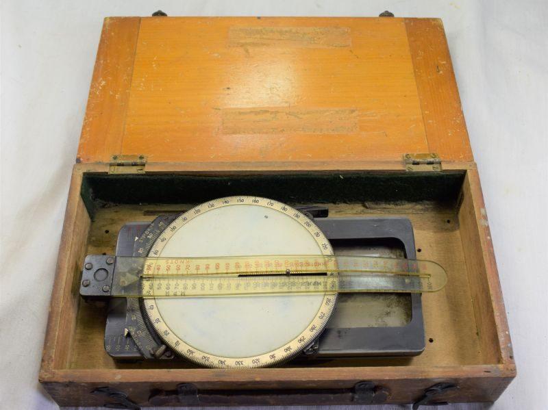 Boxed WW2 RAF Course & Speed Calculator MKIIA Ref 6B/125 Dated 1936