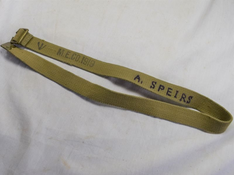 British Army 1908 Pattern Utility Strap MECo 1919