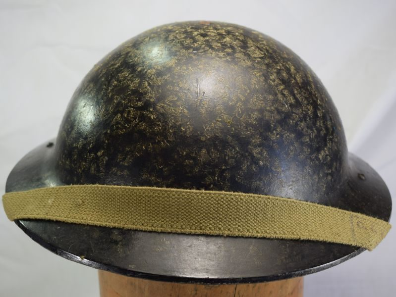 12) Good Original WW2 British Home Front Bakelite Helmet 1940