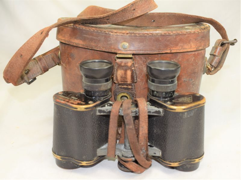 A) Original WW1 Austro-Hungarian Field Glasses Dated 1915