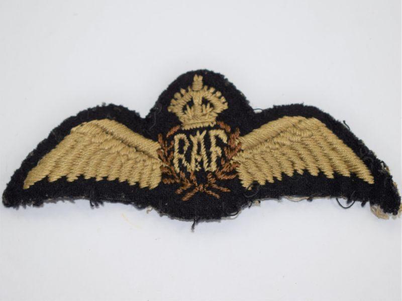 27) Excellent Original WW2 RAF Pilots Flat Wings