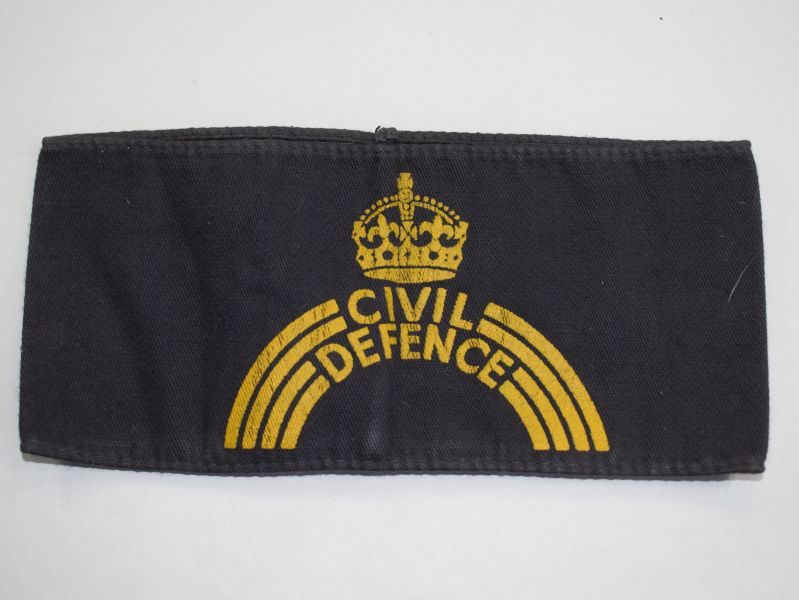 33) Original WW2 Home Front Civil Defence Armband