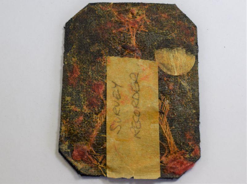 57) Vintage Royal Navy Survey Recorder Bullion Wire Trade Badge