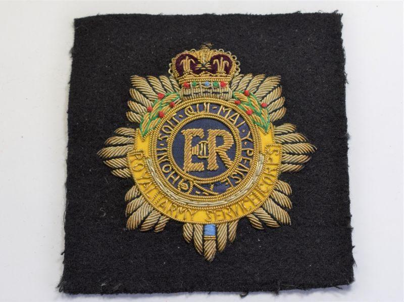 62) Post WW2 Royal Army Service Corps Blazer Badge