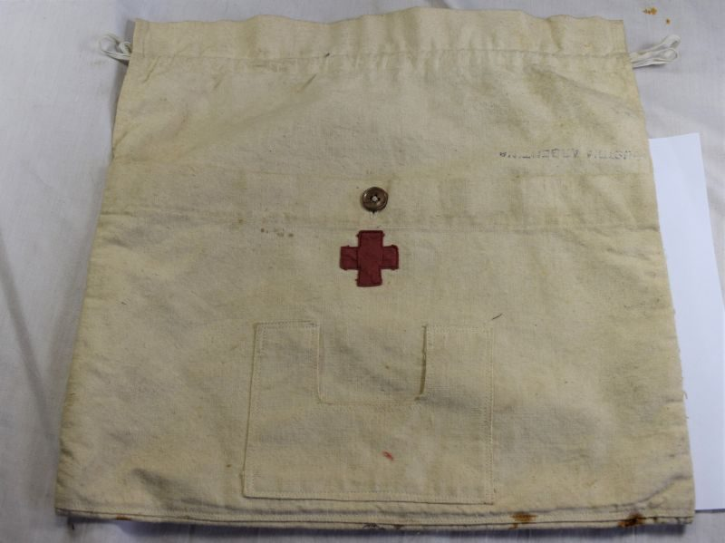 Unidentified Early Vintage Argentine Casualty Personal Effects Bag