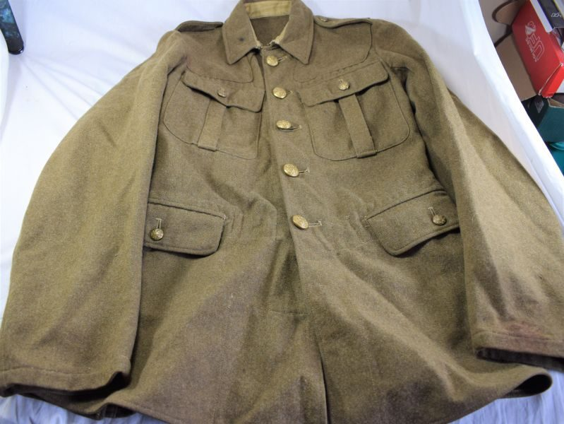 86) Original British Army 1922 Pattern Service Dress Jacket Economy Pat 1943