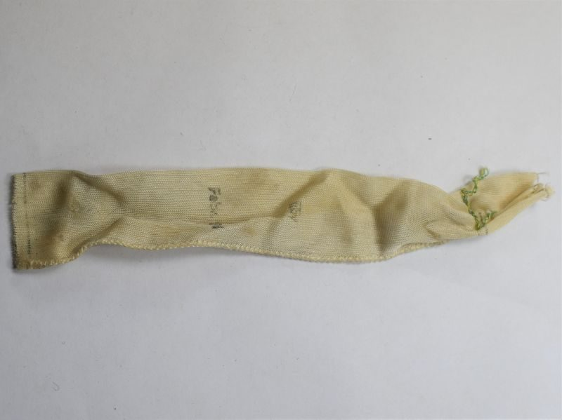 Original WW2 German 2cm Flack Gun Charge Bag Dated 1945