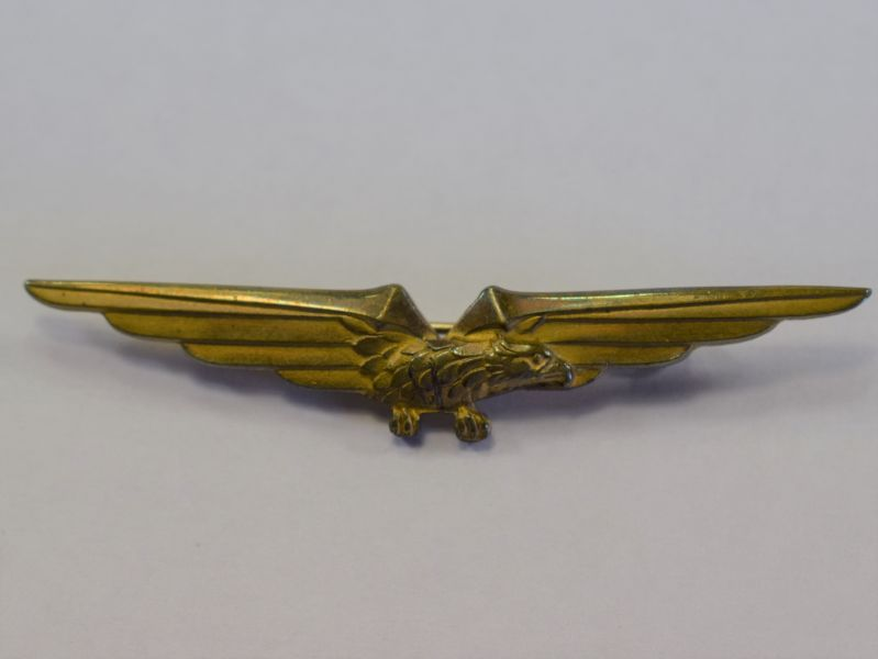 96) Excellent Original WW2 Italian Airforce Pilots Wing