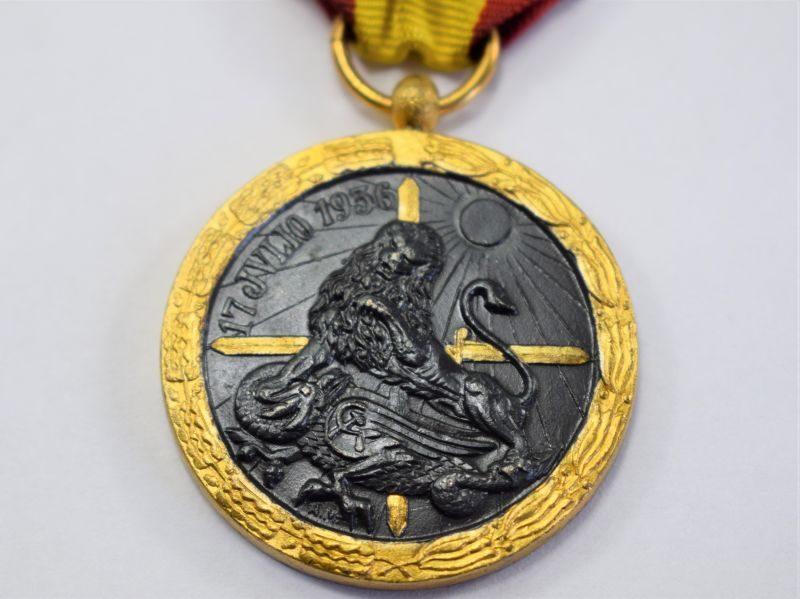97) Original Spanish Civil War Campaign Medal