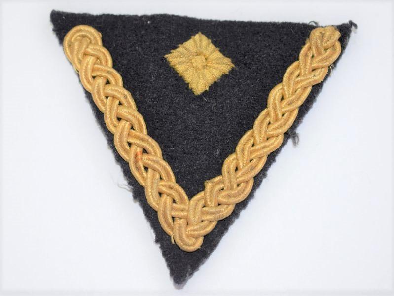 15] Original WW2 German Navy Ornate Rank Chevron & Pip Cloth Badge