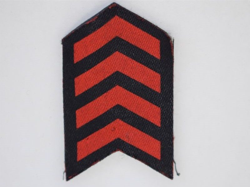 24) Original WW2 RAF Overseas Service Chevrons 4 Years Service