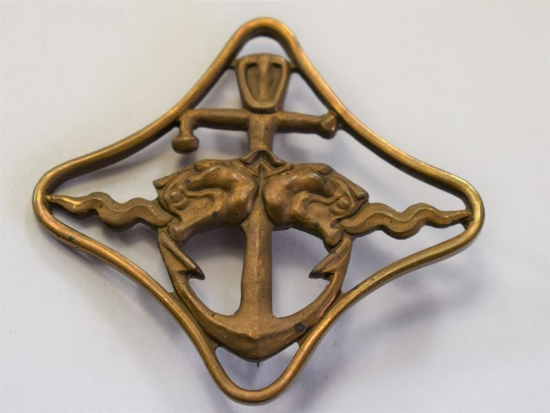 116) Original WW2 Italian Navy War Navigation Badge