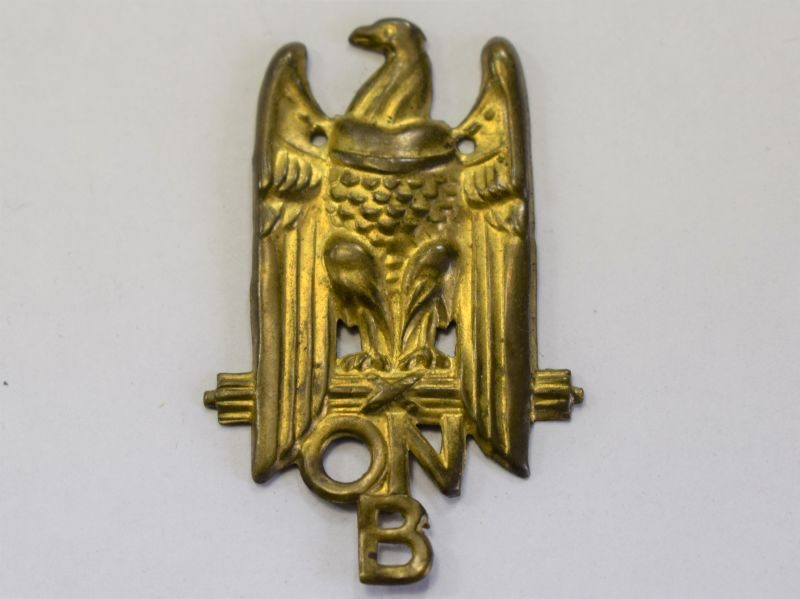 119) Original WW2 Italian ONB Youth Badge