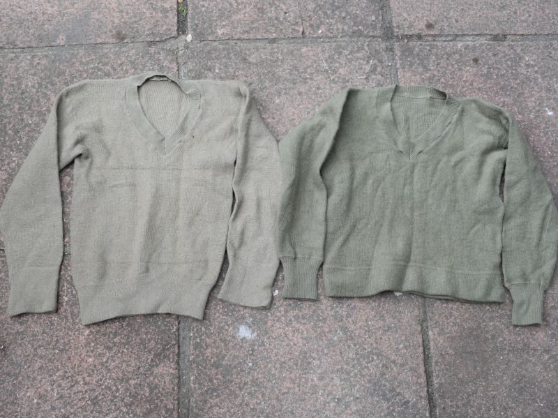 53 Pair of WW2 British & Australian Made V Neck Jumpers