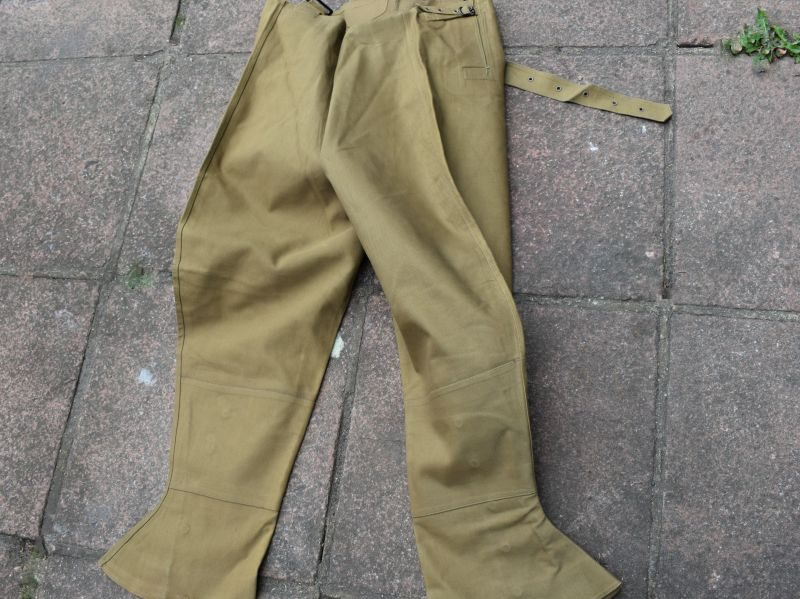 Unissued WW2 British Military Issue Dispatch Riders Waterproof Leggings 1941