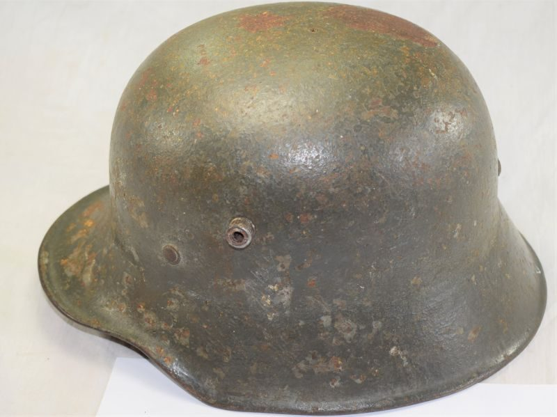 Original WW1 German M1918 Steel Helmet Shell