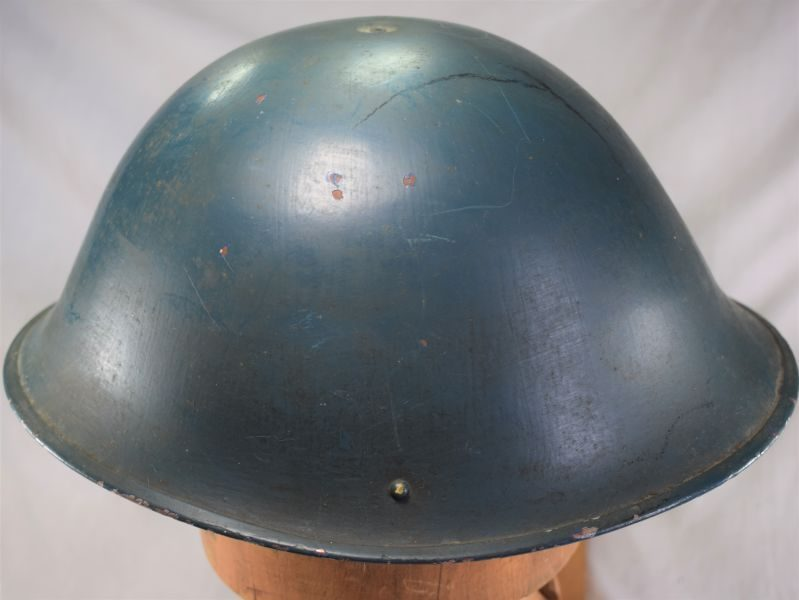 Original British Army MKIV Steel Helmet Issued to The Police 1953