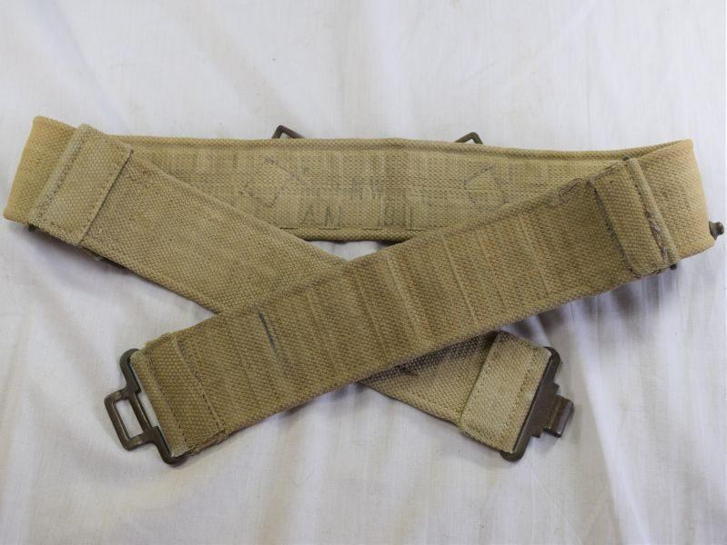 64) Nice WW2 RAF 1925 Pattern Webbing Waist Belt MW&S Ltd 1941