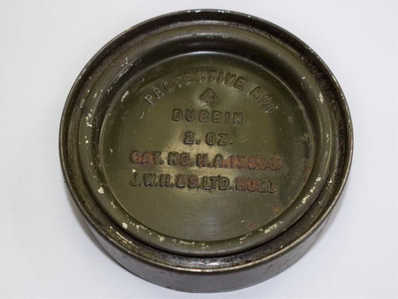 British Army WW2 – 1950s Dubbin Protective No1 Tin & Contents