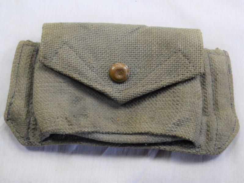 56) WW2 RAF 1925 Pattern Web Pistol Ammo Pouch MW&S Ltd 1942