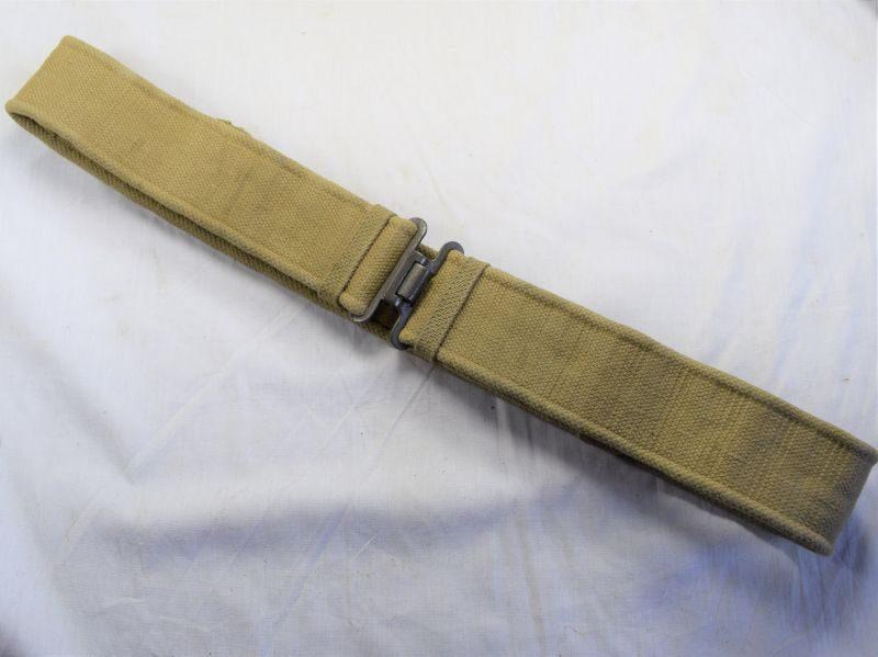 59) Good Clean WW2 British Army 1937 Pattern Webbing Waist Size EL 1943