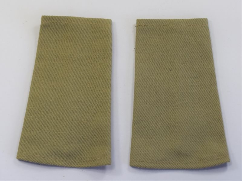 66) WW2 British Army Officers KD Slip on Epaulettes