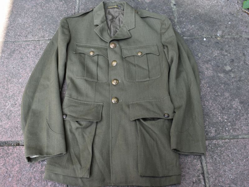 3) Excellent 1930s-WW2 Worcestershire Regiment Officers SD Jacket