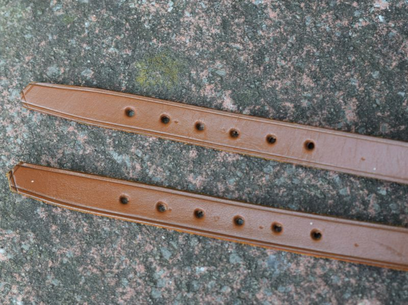 16) WW1 WW2 British Army Officers High Leg Boot Top Straps