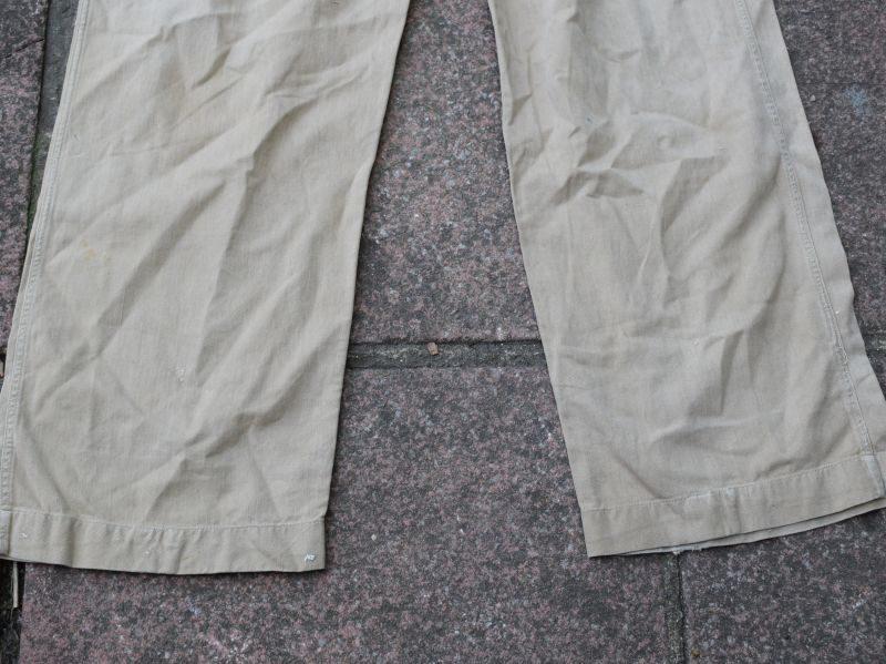 23) British Army 1950 Pattern Khaki Drill Trousers