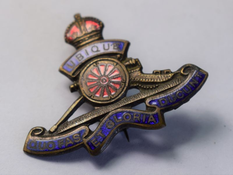 41) Original WW1 WW2 Sweetheart Brooch The Royal Artillery