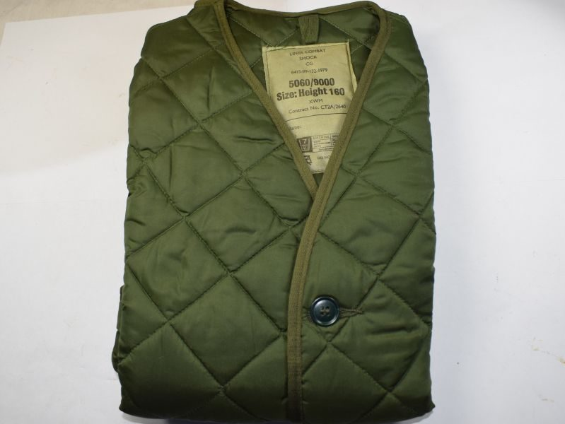 Mint Unissued British Army 1970s-1980s Issue Combat Smock Liner