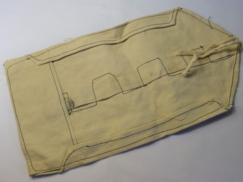 69) WW2 Indian Made British Army Issue Wash Roll Dated 1941