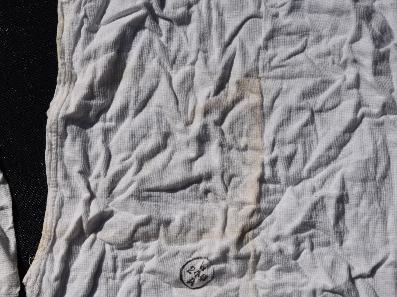 WW2 Indian Made White Aertex Singlet and Boxer Shorts 1943
