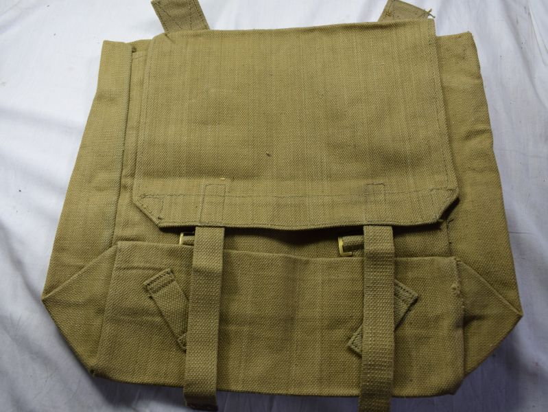 A29) Excellent Unissued WW2 British Army Webbing Large Pack K Ltd 1943