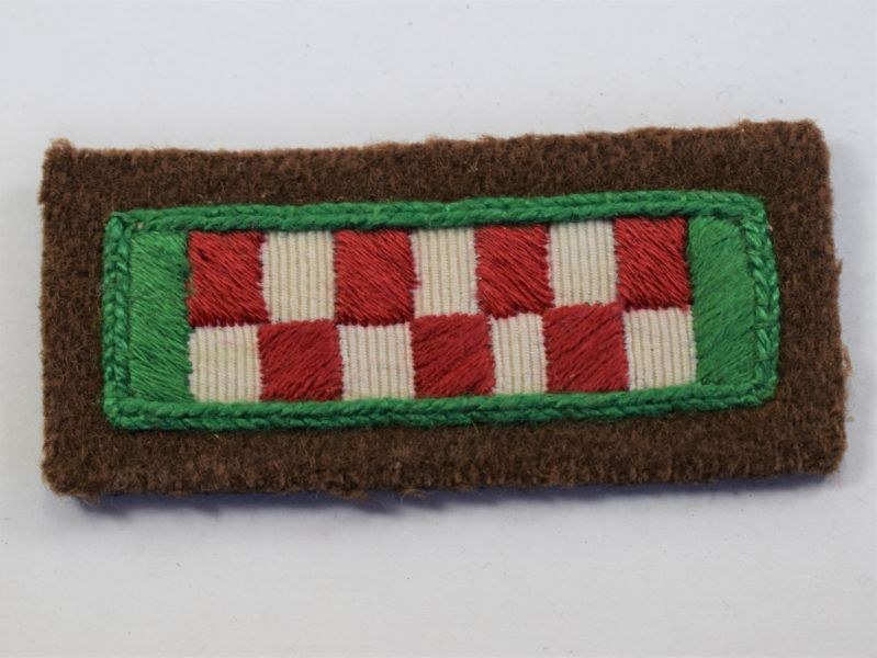 12) WW2 Era Argyle & Sutherland Highlanders Cloth Badge