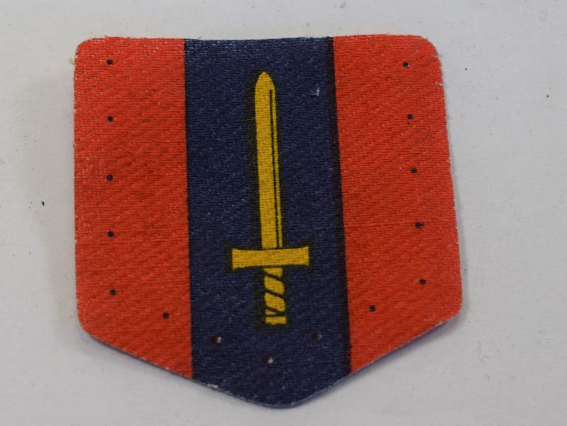 16) Original British Army Printed RAOC Cloth Badge