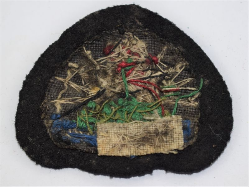 22) Vintage Malawi Police Officers Woven Wire Cap Badge